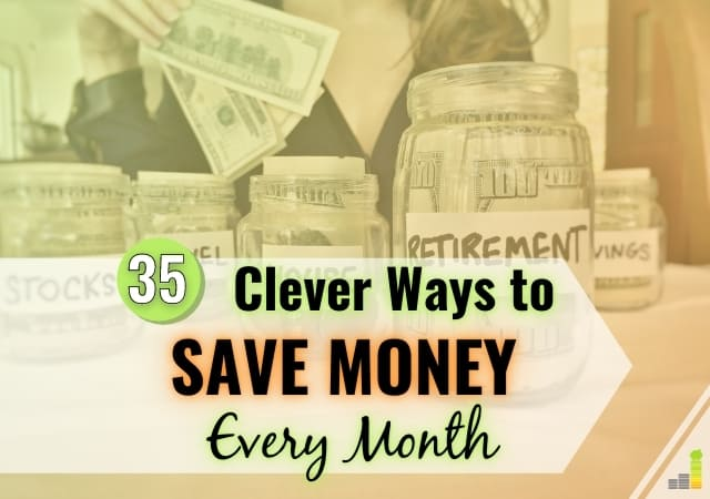 You can save money every month in many ways. Here are 35 ways to save money each month that will let you save thousands of dollars a year.