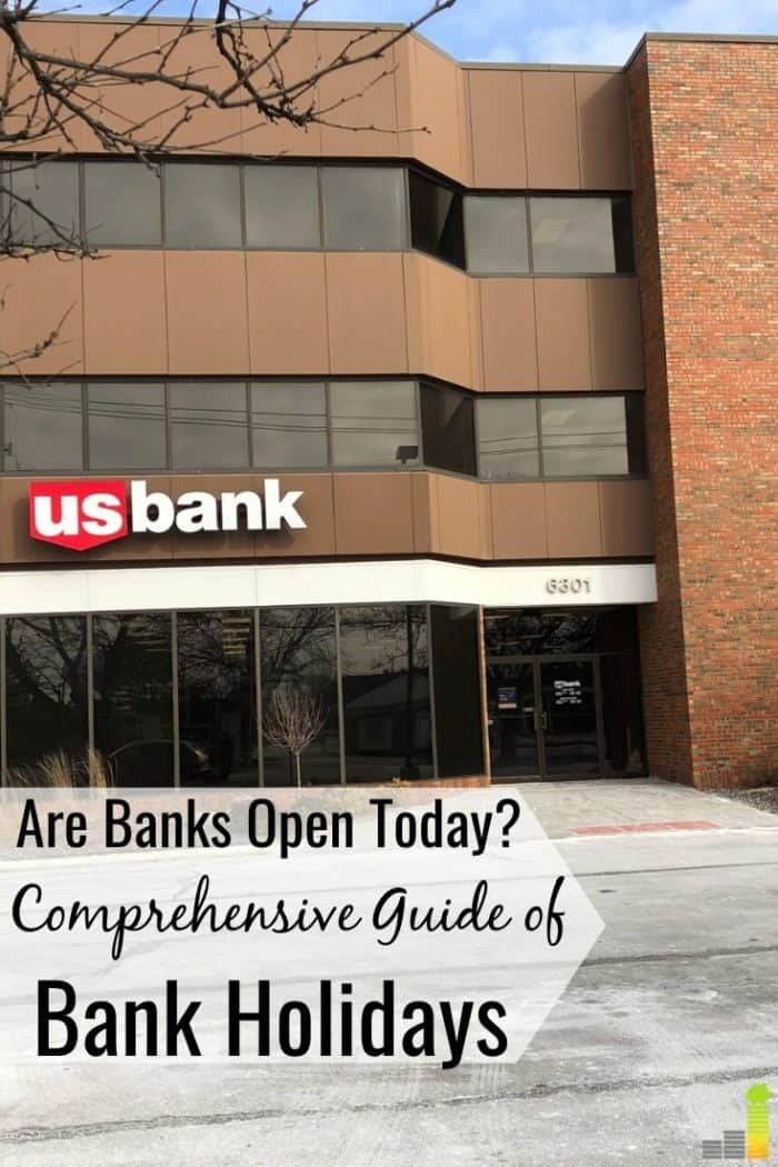 Are banks open today is something we all ask. We share a list of bank holidays and stock market holidays to learn if you can conduct business today.