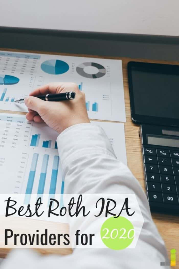 The best Roth IRA providers help grow your money for retirement. Here are the 6 best places to open a Roth IRA and start saving for retirement in 2020.