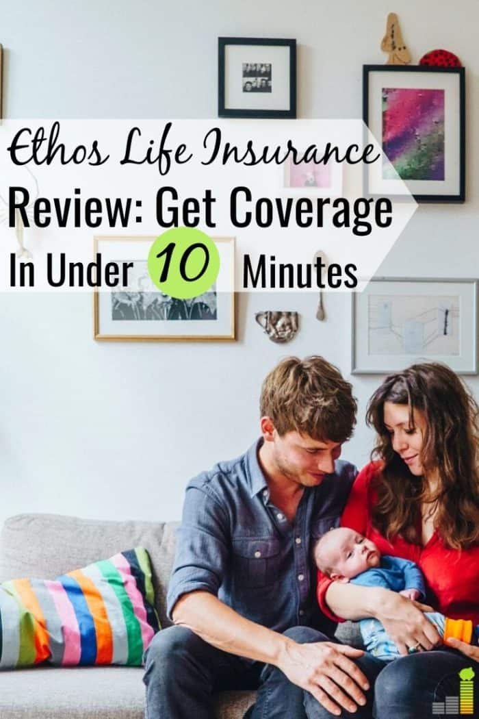 Finding cheap term life insurance is time-consuming. Read our Ethos Life insurance review to see how you can get coverage in 5 minutes with no medical exam.