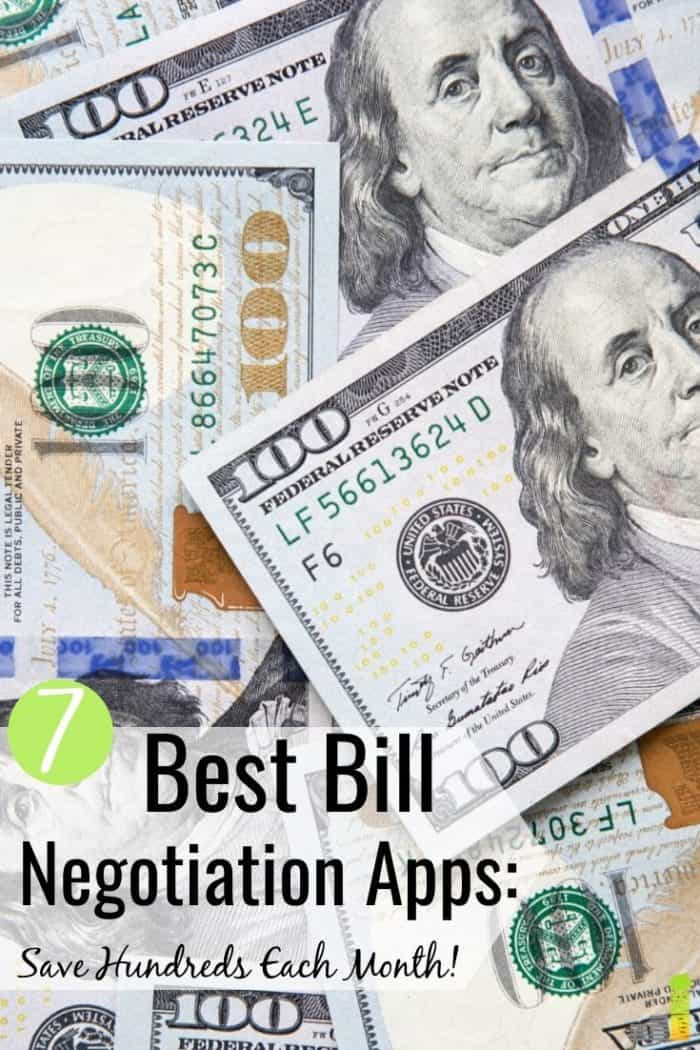 The best bill negotiation services let you save money with little effort. Here are the top 7 bill negotiation apps that help you lower your monthly bills.