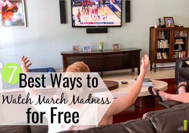 You can watch March Madness without cable and save $50+ per month. Here are the 7 best ways to watch March Madness live and save big money.