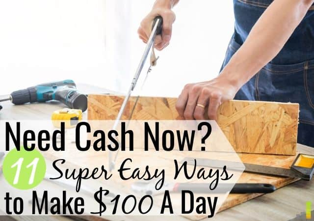 Looking for quick ways to make $100 in a day? Here are 11 real ways to make money in one day so you can pay your bills or make it until your next paycheck.