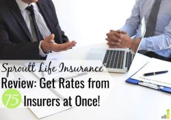 Finding cheap term life insurance takes time. Read our Sproutt life insurance review to see how you can compare multiple providers to get a good policy.