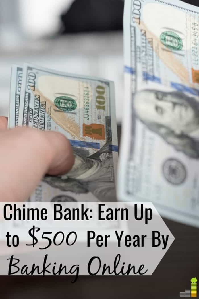 Chime Bank is an online only bank that has no fees. Read our Chime Bank review to see how they can help you save more money and get your paycheck quicker.