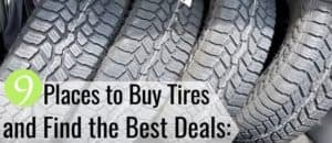 The best places to buy tires simplify the buying process. Here are the 9 top places to buy tires and how to find the best tire deals online to save money.