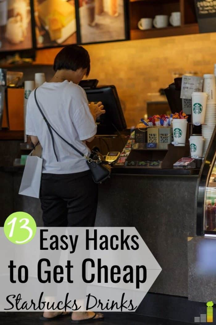It's possible to get cheap Starbucks drinks and still enjoy their coffee. Here are 13 ways to save money at Starbucks and not sacrifice your love of coffee.