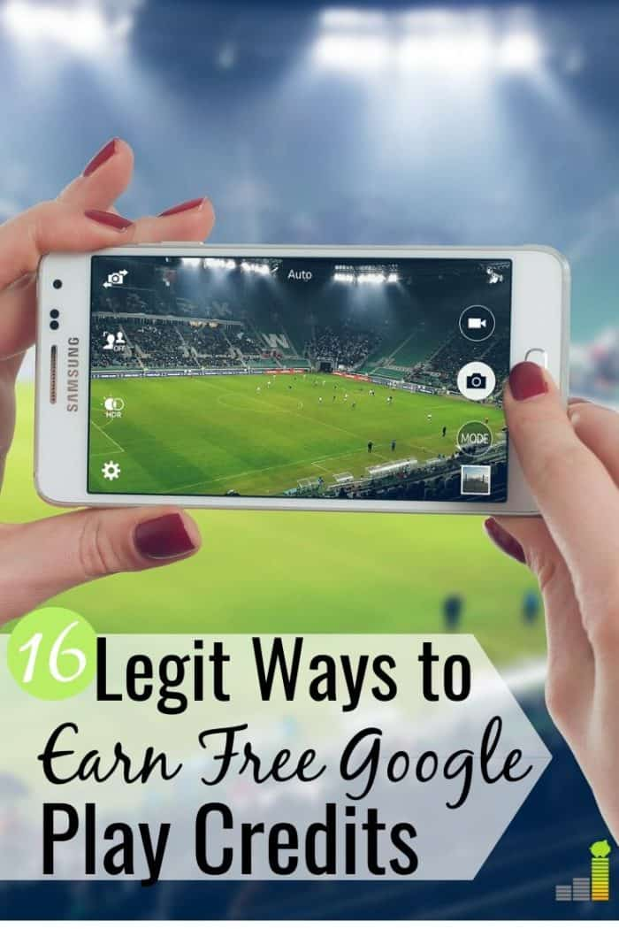 You can earn free Google Play credits to save money on apps. Here are 16 legit ways to get free Google Play gift cards to buy apps and other entertainment.