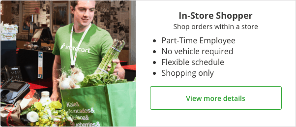 In-store shopper