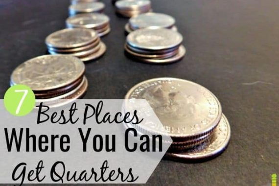 Do you need to know where to get quarters, but at a loss? Here are the 7 best places to buy rolls of quarters for laundry, for parking, and more.