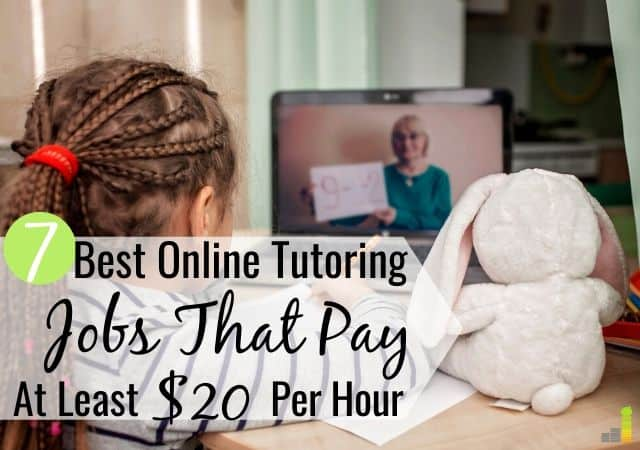 The best online tutoring jobs let you make money from home on your schedule. Here are the 7 top online tutoring services to work for and earn $20 per hour.