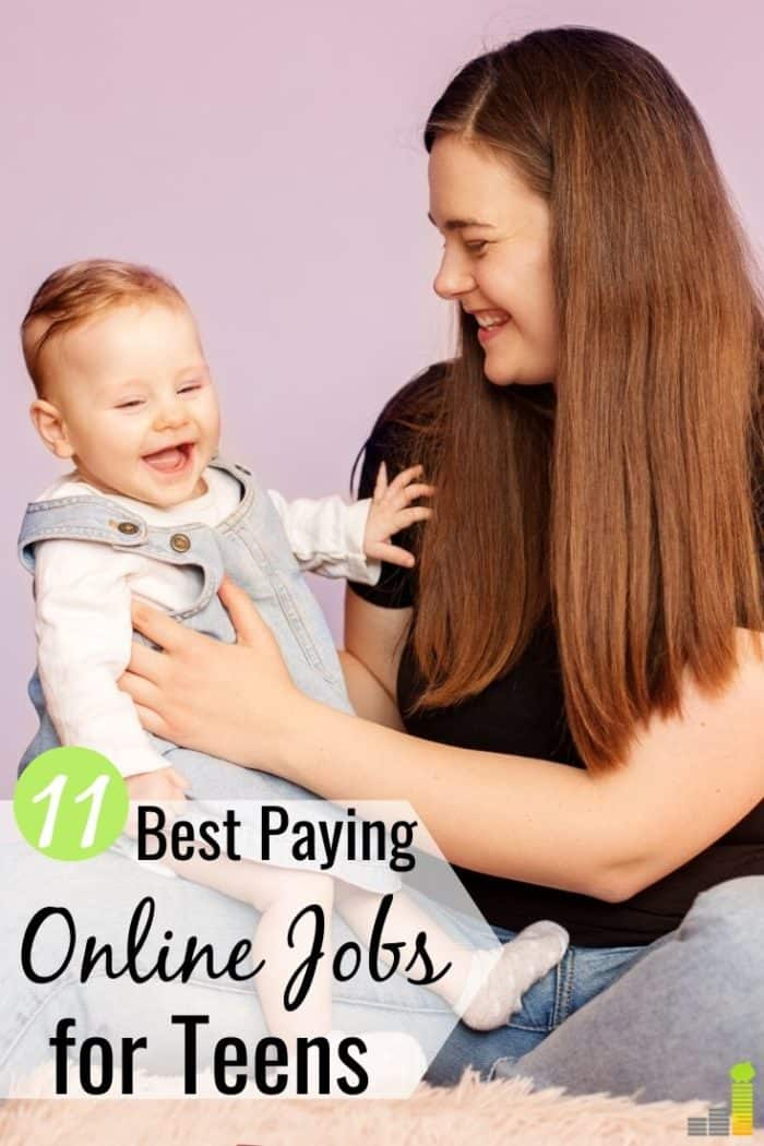 The best online jobs for teens let students earn money and gain independence. Here are the 11 top choices to make money as a teen without flipping burgers.