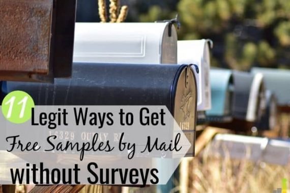 Free samples by mail without surveys is a great way to try new things for free. Here are the 11 best sites to get free samples with no surveys and no catch.