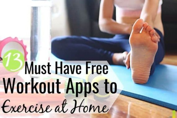 The best free workout apps let you exercise at home and save money. Here are the 13 top free fitness apps for good workouts to do at home on a budget.