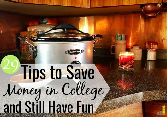 Looking for ways to save money in college, but think you can't? Here are 29 tips to save money in college as a college student and still have a great time.