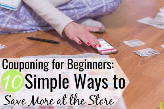 Couponing for beginners doesn't have to be difficult. I share the 10 best coupon apps for beginners to save on groceries and other needs for your home.