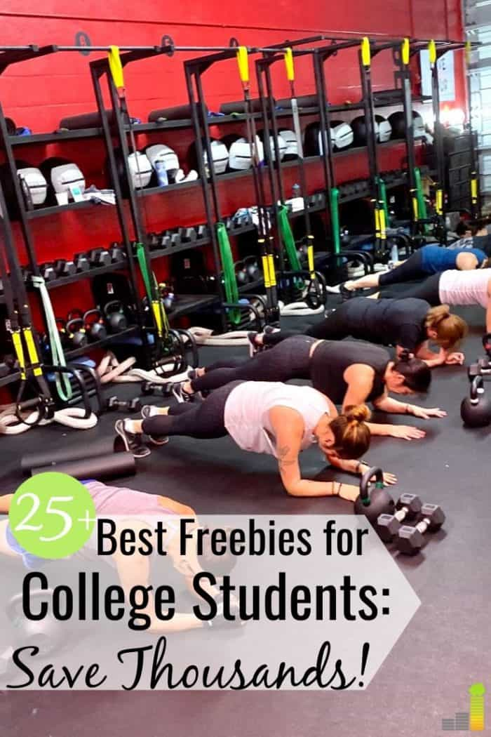 The best freebies for college students let them save money on many things. Here are 25+ businesses that offer free stuff and discounts for college students.