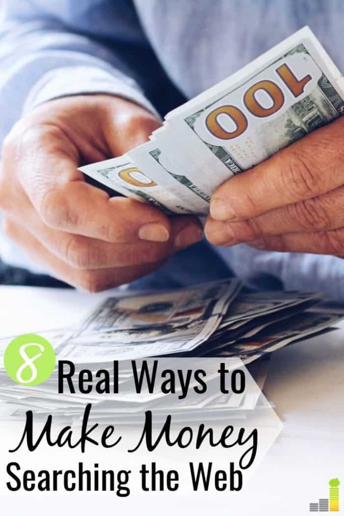 You can get paid to search the web in many ways. Here are the 8 best ways to get paid to surf the web and make money doing something you're already doing.