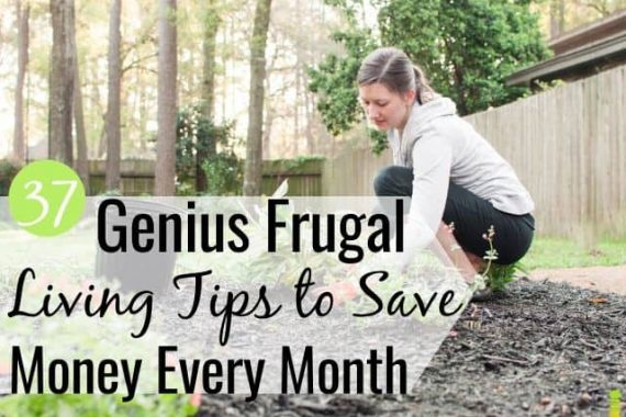 The best frugal living tips let you live life without sacrificing a lot. Here are 37 ways to live simply, save money, and reach all of your financial goals.