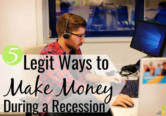 Are you trying to learn how to make money during a recession? Here are 5 ways you can start making money during an economic crisis and avoid loss.