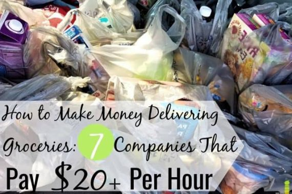 You can get paid to deliver groceries and earn $20+ per hour in your free time. Here are the 7 best grocery delivery jobs to earn money on the side.
