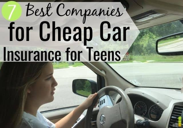 Cheap Car Insurance for Teens: 7 Best Companies - Frugal Rules