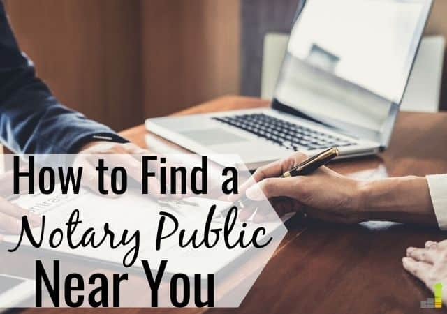 Do you need to find a notary public for a legal document and not know where to look? Here are 13 simple ways to get a document notarized near you for cheap.