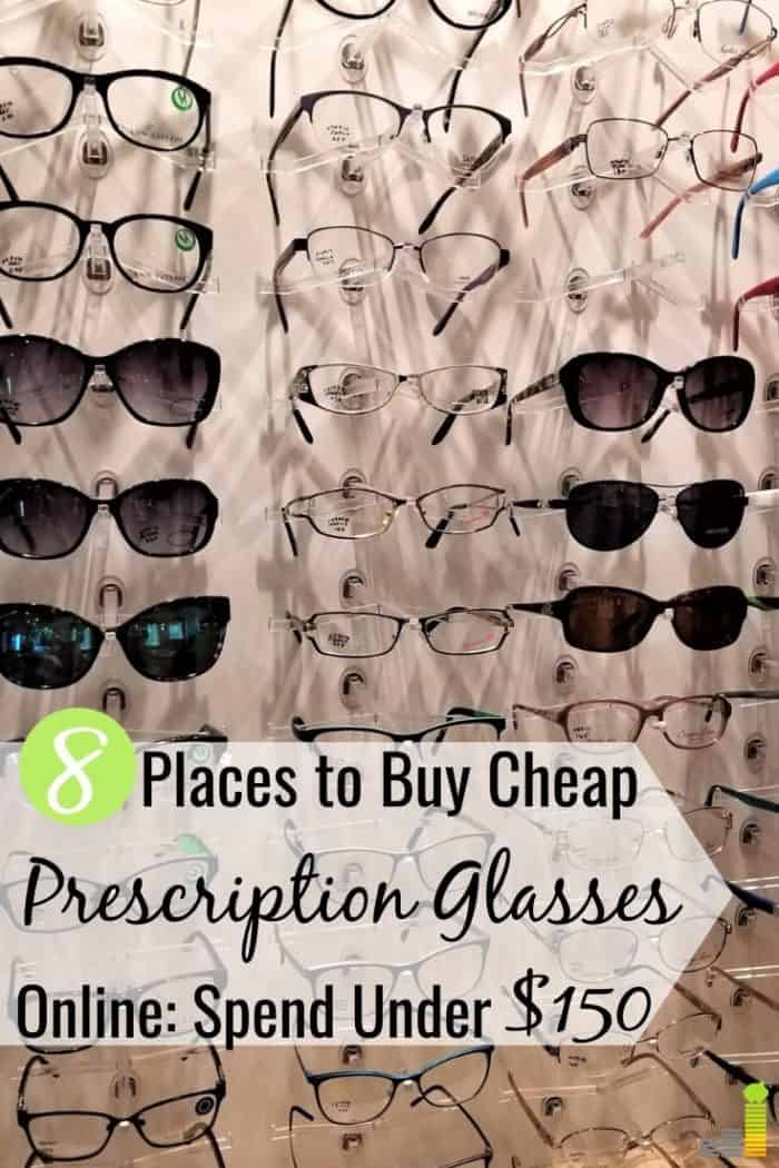 You can buy cheap glasses online for much less than a store. Here are the 8 best places to buy cheap prescription eyeglasses online and save 50% or more.