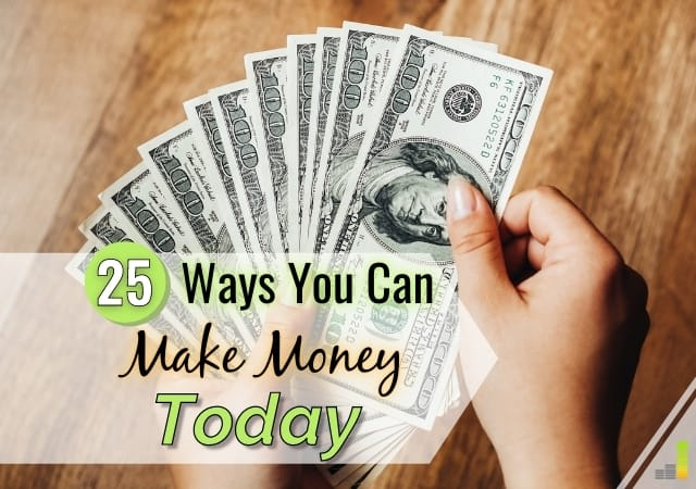 I need money now is a common feeling by many to make ends meet. Here are 25 ways to get cash today to pay a bill or pad your budget.