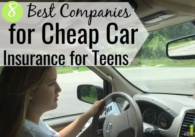 Finding cheap car insurance for teens is hard, but possible. Here are 8 top companies for coverage for new drivers and other ways to save money on coverage.