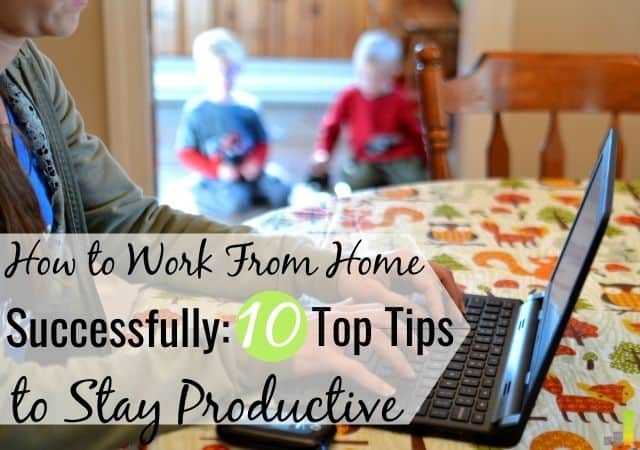 Have you recently had to change how you work? If you must now work remotely, here are some tips for working from home to stay productive.