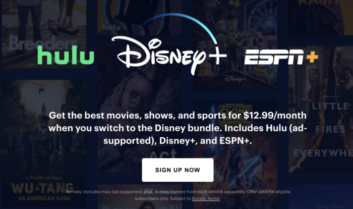 Hulu+Disney+ESPN+