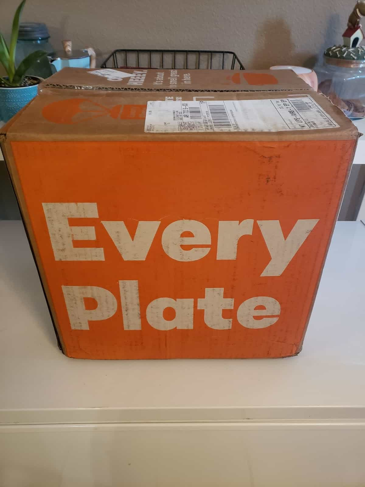 EveryPlate box
